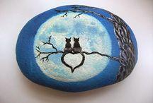 ζωγραφιστές πέτρες
