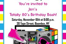 I Love The 80's / by Donna- Glamorous Sweet Events