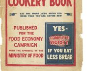 1918 Win-The-War Cookery Book / The complete content from an original 1918 Ministry of Food-approved rationing cook book. If you want the recipe for 'fish sausages', look here.