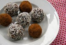 Raw truffles and bliss balls