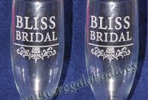 Copas Grabadas / Un lindo detalle de toda boda. Copas grabadas para los novios. Consulta nuestra tarifa de precios.