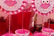 centro de mesa buo rosa
