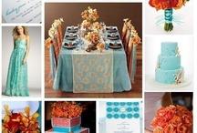 color coral turquoise / by Ellen Sinkey