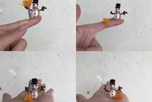 Miniature Snowman crochet / Www.etsy.com/shop/asiashopgifts  Www.facebook.com/asiashopgifts  www.pinterest.com/asiashopgifts www.instagram.com/asiashopgifts https://plus.google.com/+TrâmVũVươngMai https://m.youtube.com/channel/UCMq9r5fd2d1lUrtbAfZJ6sA/videos