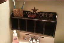 Bathroom ideas / by Kerri Sargent