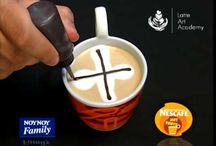 latte art video
