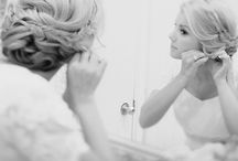 // hochzeit # hair and beauty // / Hochzeitsfrisur, Make up, etc.