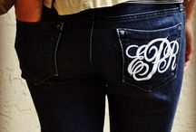 Monogrammed everything