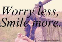 Smile More / Things that make you smile