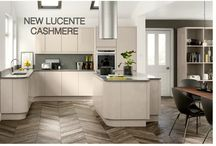 Lucente Cashmere / 25% OFF RRP'S UNTIL 29 FEBRUARY 2016  NEW Lucente Cashmere Kitchen Doors  This on trend, cutting edge design offers uncompromising style with its sleek, contemporary look.  #kitchenmakeover #modern #doorsandhandlesuk
