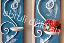 Ebruli Dekoratif Boyama Atölyesi / Ebruli Atölyemde eskimiş ya da sıkıldığım eşyaları boyuyorum ve onlara yeniden kimlik kazandırıyorum. İletişim instagram/ ebrulidukann - facebook/dukkanebruli -sipariş alınır -