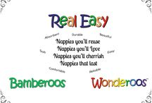 Real Easy, Bamberoos & Wonderoos Nappy Review