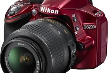 Nikon D3200 / My camera, Red, of course!  Tips, equipment and style ideas and information on the D3200 and photography in general