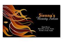 Hairdresser salon design / Ideas for hair salon promotion and interior design.
