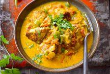 Recettes / Poulet curry coco