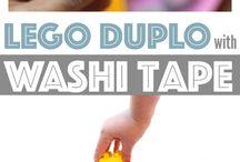 washi pásky a nápady