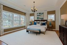 Dream Bedrooms / Luxurious bedrooms in various Christopher Companies Homes