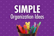 Simple Organization Ideas / Getting organized doesn't have to give you a headache. Let Alejandra Costello's simple organizing ideas, tips, best products, and videos empower you to confidently create clutter-free storage solutions and calming spaces in your home or office. / by Alejandra Costello | Home Organizing Tips, Ideas, Videos, & Best Products