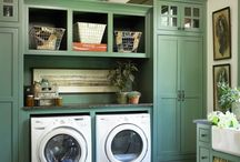 This Is The Way We Wash Our Clothes / Laundry rooms that are dreamy