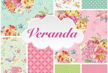 Veranda by Brenda Walton for Blend Fabrics
