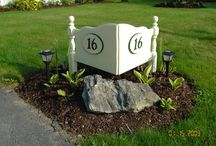 front sign
