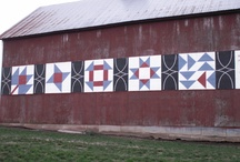 barn quilts / by Cathy Salentiny