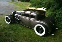 rat- hot- rod, open wheel