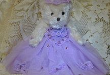 Victorian Teddy Bears / You'll love our collection of adorable Victorian Teddy Bears.  They are decorated to add a touch of romance to any decor.