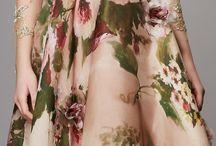 floral/stripes etc print