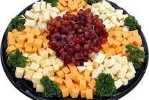 Käseplatten / Aufschnitt / Obst