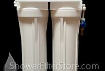 Fluoride Filters / Our fluoride filters actively remove fluoride and other contaminants from the water you drink and bathe in. / by ShowerFilterStore.com