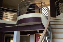 Vision Stairways - Raleigh Office / These are pictures from our Raleigh offfice!