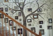 Picture / Art Wall Ideas / Great, artsy ways to show off pictures and art in your home!