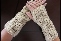 crochet gloves socks shoes