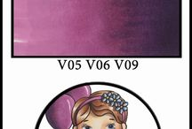 Copic Color of the Day - Purple