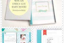 Emily Ley Baby Book Contest / Pin to Win!   We're giving away a free @EmilyLey ‪#‎BabyBook‬! The perfect keepsake to fill with heartfelt memories for your new bundle of joy or as a ‪#‎gift‬ for a new mom-to-be. #smittenwBaby  Full rules and regulations: https://goo.gl/dCKxaN