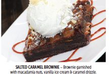 Decadent Desserts / Featured desserts from our Feb/March 2016 TravelHost Issue!