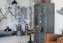 Industrial antique chic