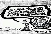 ASTURIANU / La fala de la mio tierra, de la mio xente.