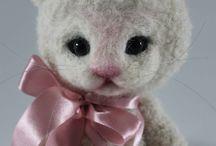 Crochet toys / Zapomniane Zabawki / Zabawki dla dzieci i misie kolekcjonerskie wykonane na szydełku