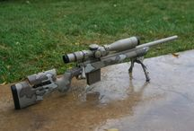 sniper rifle/Remington Model 700/photo / Character design and Drawing reference