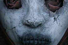 Creepy masks