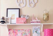 Cute Girls Desk Area