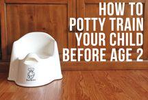 Potty training/teething / by Ashley Lloyd