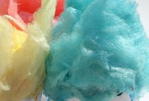 Candy Floss / Interesting ways to display and serve Candy Floss