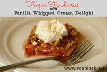 Desserts / collection of dessert recipes / by Jamie Roubinek | Roubinek Reality blog