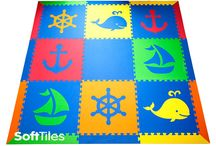 SoftTiles Kids Play Mats on Amazon / SoftTiles Foam Play Mats now available at Amazon.com. Add SoftTiles to your registry for baby showers and get free Prime shipping! Use SoftTiles interlocking foam mats for creating designer cushioned playrooms for your crawling baby or child learning to walk.