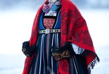 Costumes from Valdres , Norway
