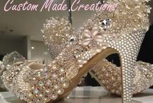 Crystal, Pearl & Embellishment Heels