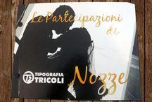 Partecipazione di Nozze  - Wedding Card / Le nostre partecipazioni di nozze